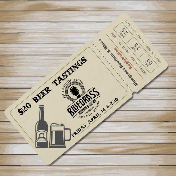 Bluegrass Bourbon & Brews Ticket