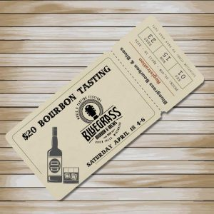 Bluegrass Bourbon & Brews Ticket
