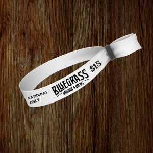 Bluegrass Bourbon & Brews Wristband
